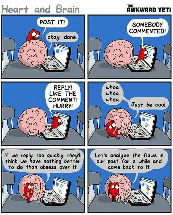 #thestruggle brain and heart