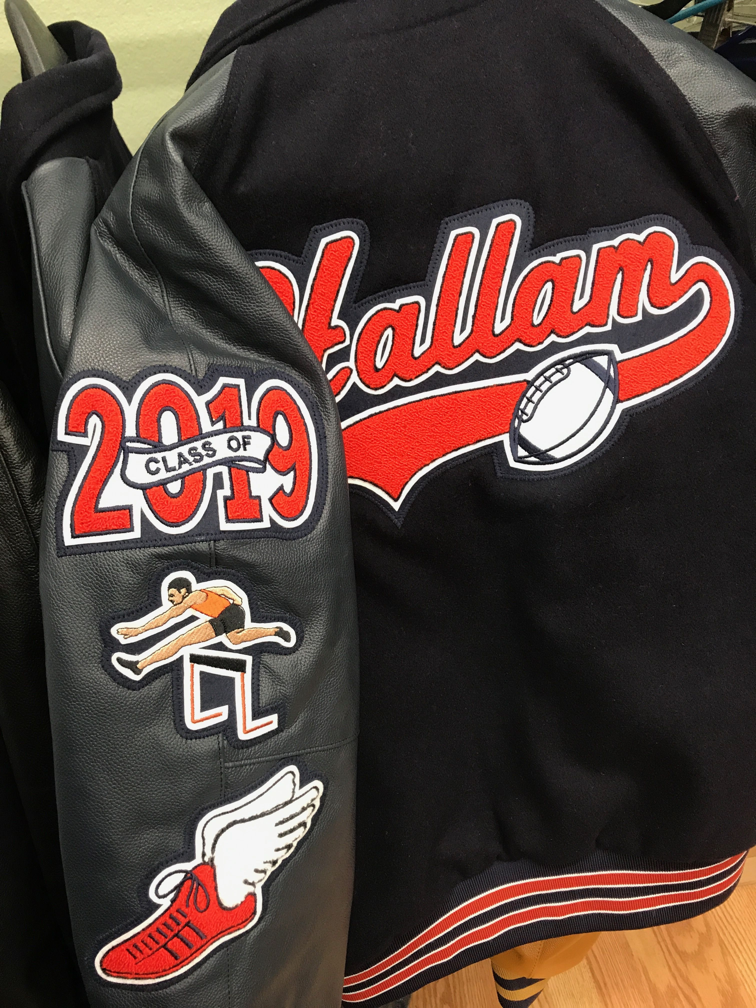 Letter Jackets and Chenille Patches by A1 Sports Center