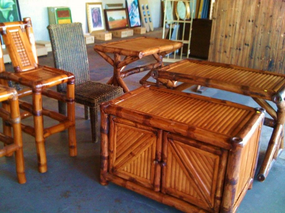 Choosing Best Decorating Interior With Bamboo Accent Table And Other Bamboo  Furniture: Lovely Bamboo Furniture