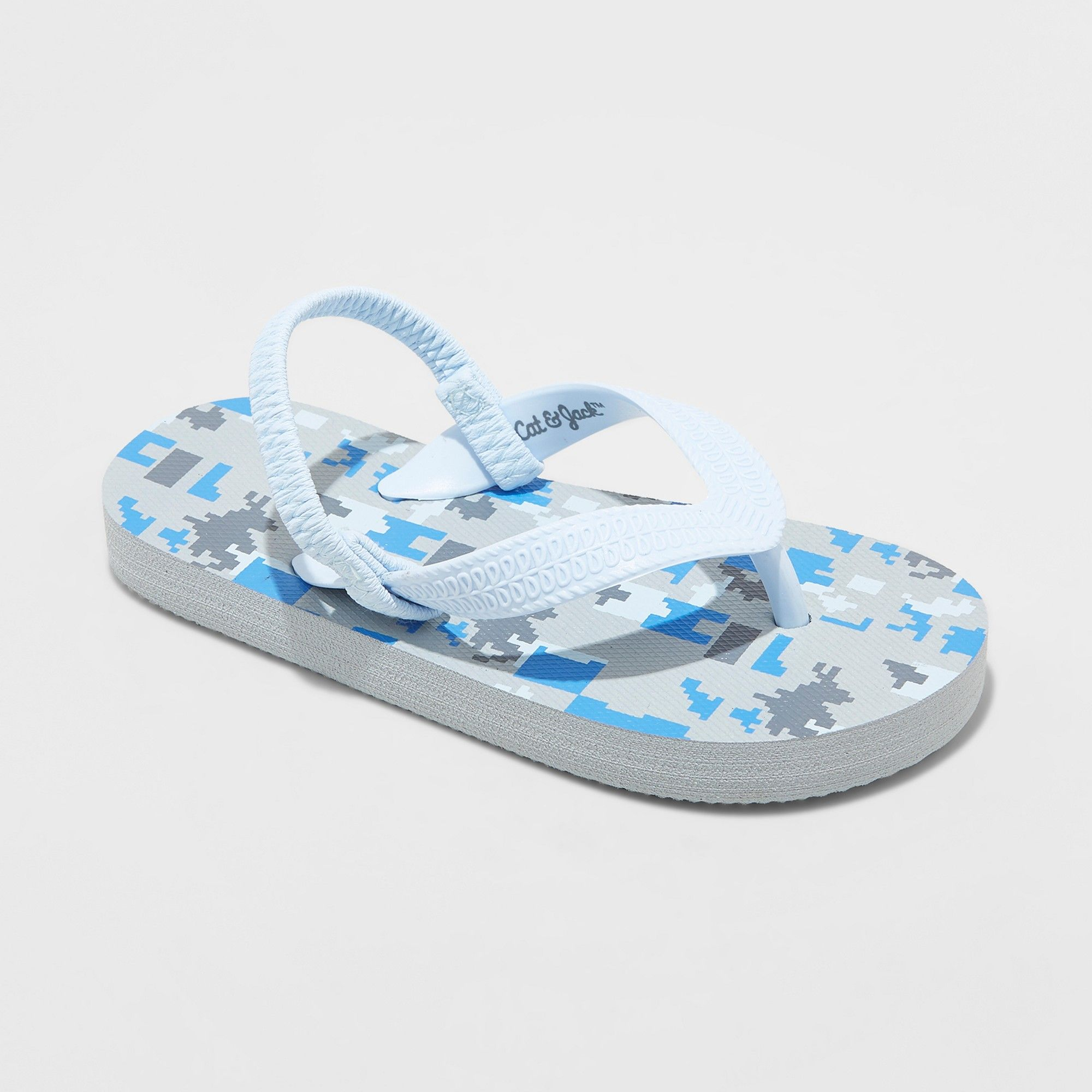 f8075edbc591 Toddler Boys' Lance Flip flop sandals - Cat & Jack Light Blue XL ...