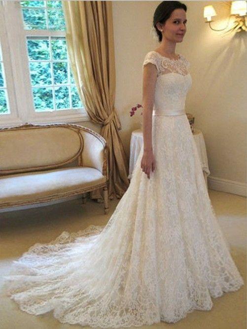 Missy Dress Brautkleid 2016 Brautmode 2016 A-Linie Spitze ...