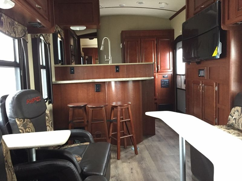 2015 Evergreen Amped 32ks Toy Haulers Travel Trailers Rv For Sale
