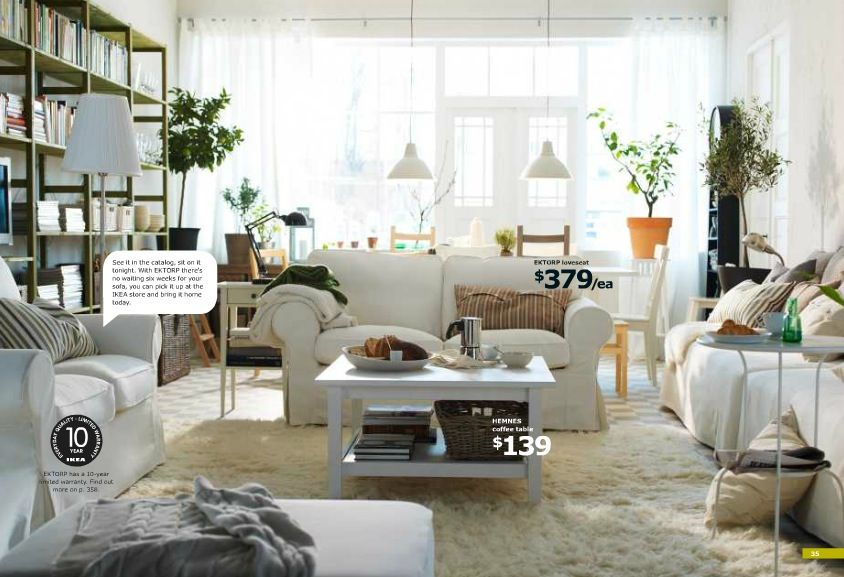 ikea living room cozy - Google Search Living Room Pinterest