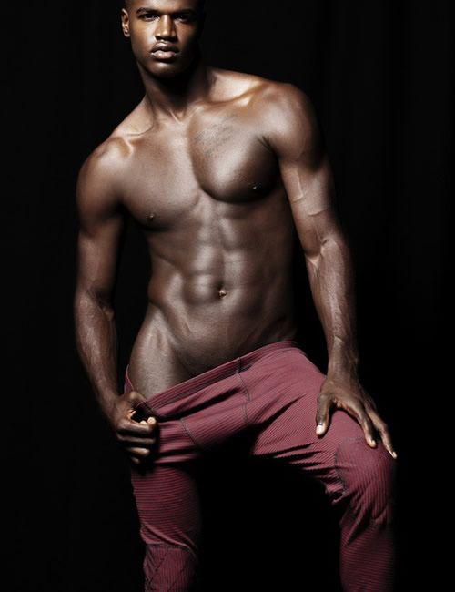 Horny gay black