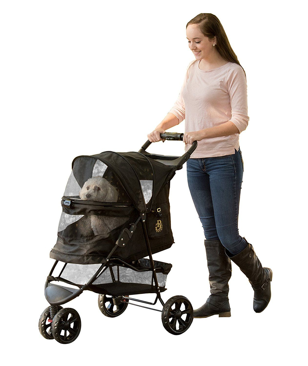 Pet Gear NoZip Special Edition Pet Stroller Click on