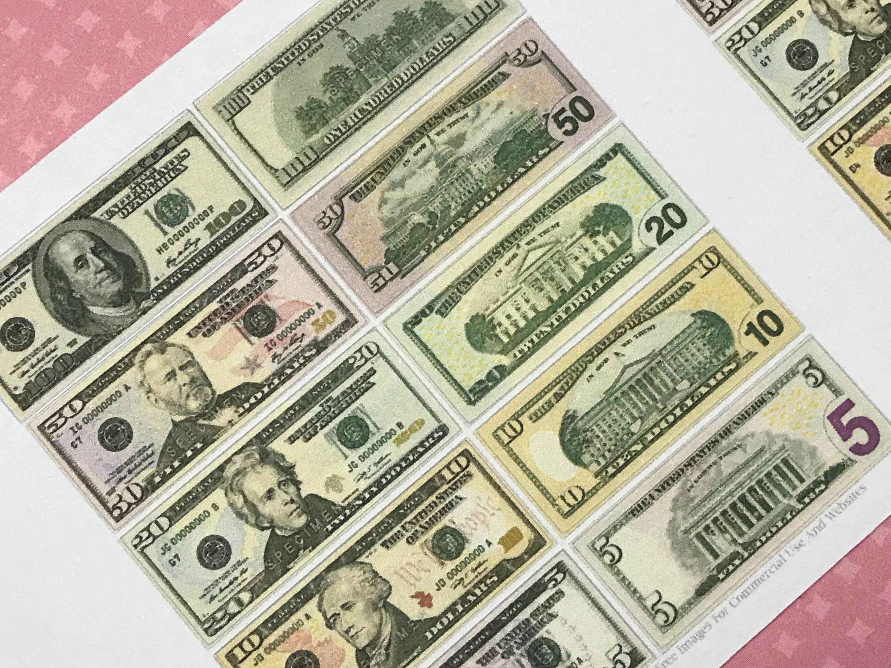 Money Stickers by OldfieldDesigns on Etsy Money stickers