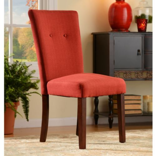 Superb Product Details Red Flame Parsons Chair New Home Ideas Ibusinesslaw Wood Chair Design Ideas Ibusinesslaworg