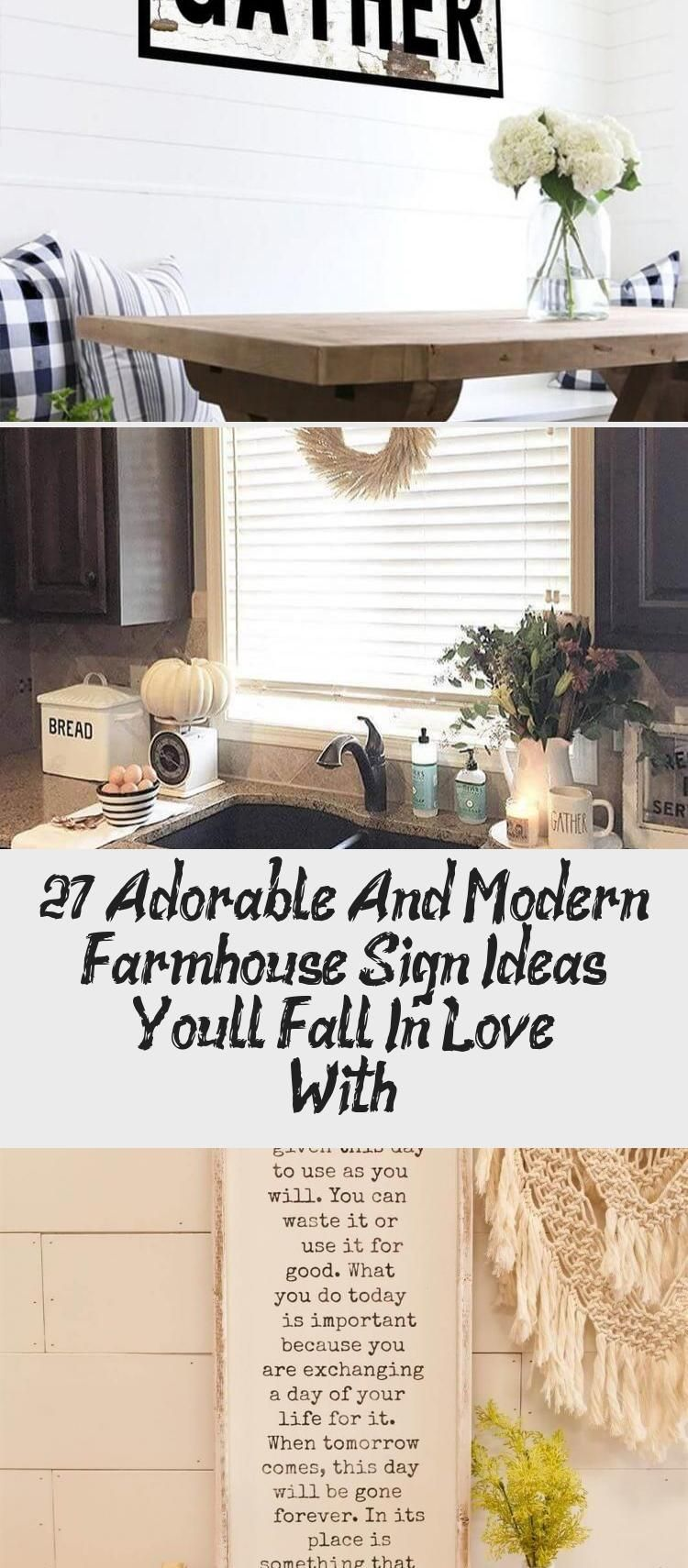 Modern Farmhouse Sign Ideas With Sweet Sayings Housedecorsouthern Housedecorpaint Housedecorblue Housedecorru In 2020 House Decor Rustic Home Decor Farmhouse Signs