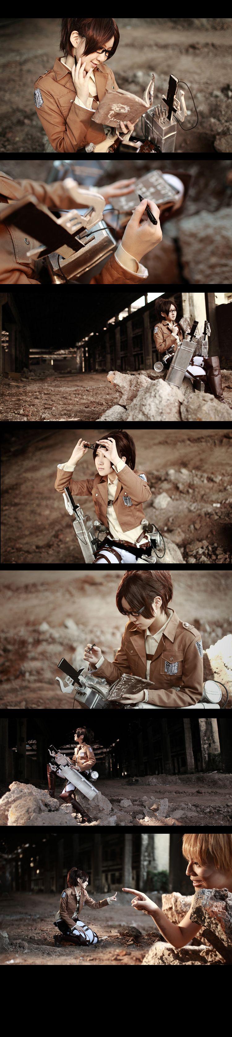 Attack on Titan Hanji Zoe4 by 35ryo on DeviantArt