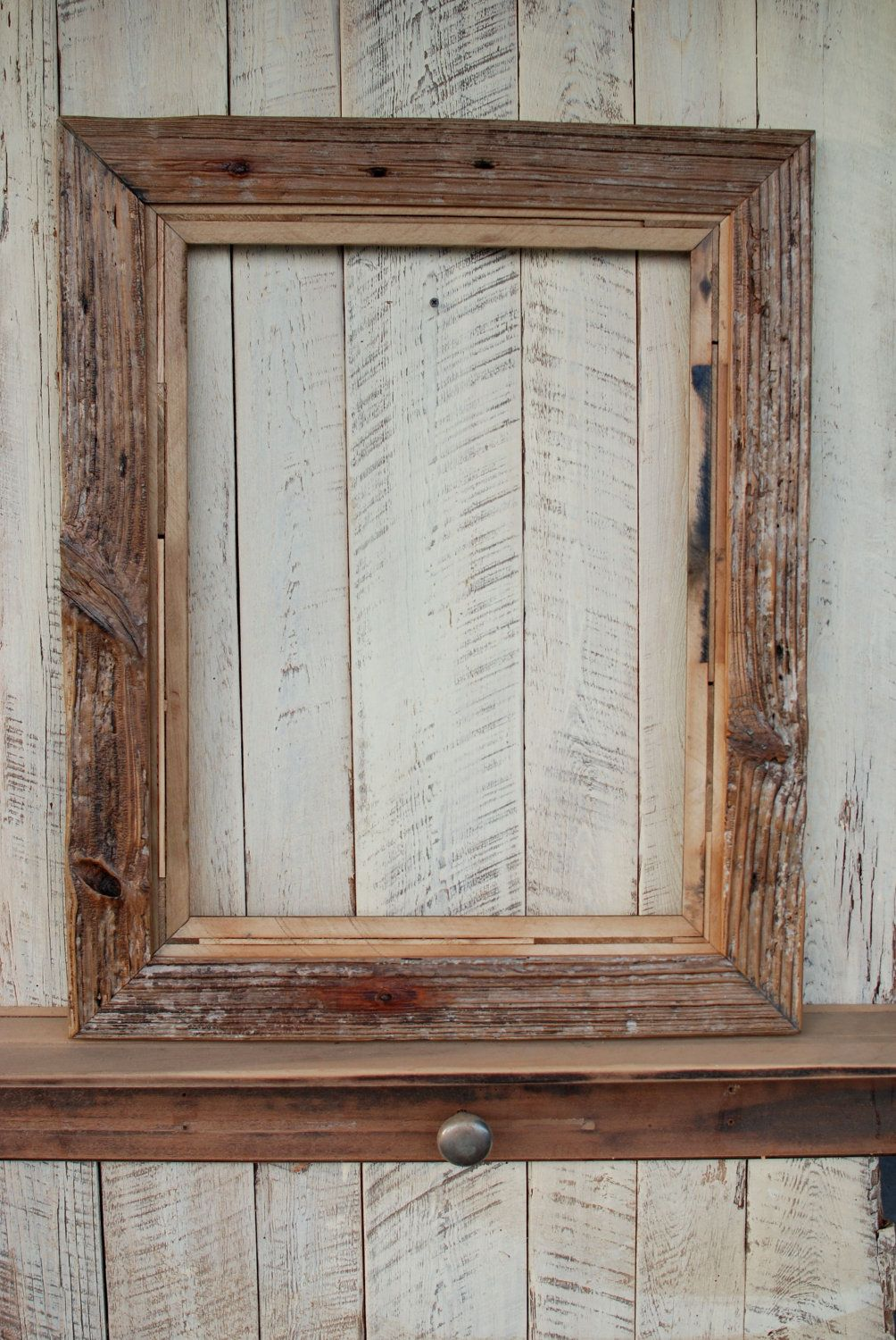 18x24 Driftwood meets Piano repurposed wood picture frame. $125.00 ...