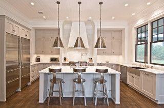 Flying Point Transitional Kitchen New York By Benco - Kitchen center island lighting