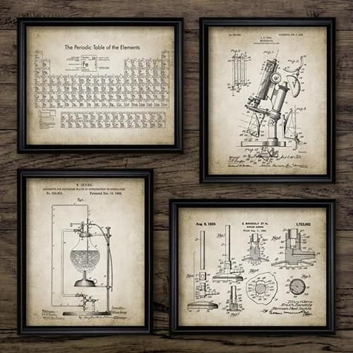 Photo of Chemistry Art Prints – 40×50 cm No Frame / PH662566266627662…
