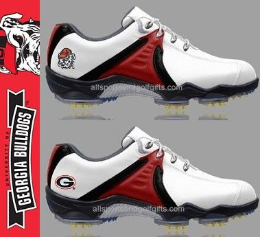 Georgia Bulldogs Footjoy Golf Shoes Dryjoys Pods Tech