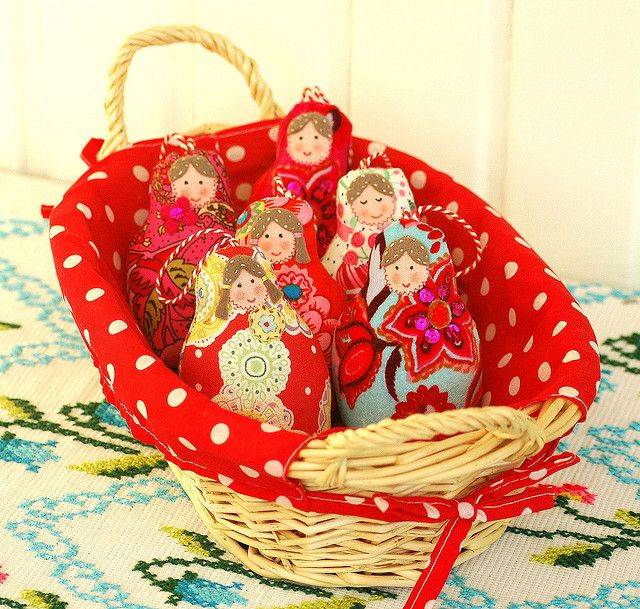 Basket of Babushkas