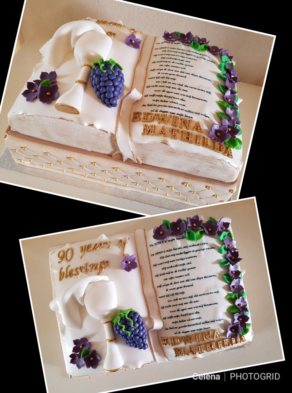Bible birthday cake bijbel verjaardagstaart great cake ideas