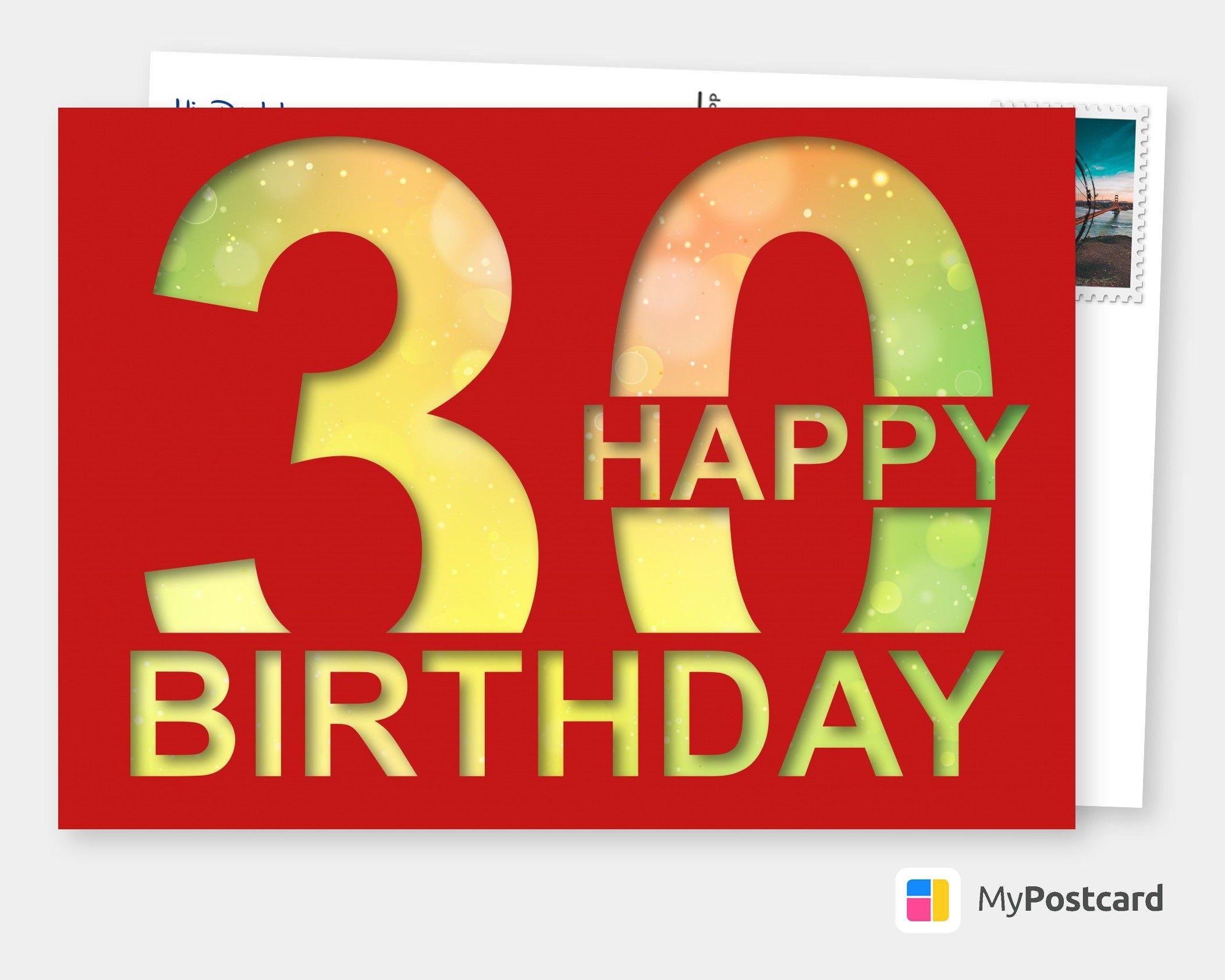 42+ Happy birthday 30 sprueche Sammlung