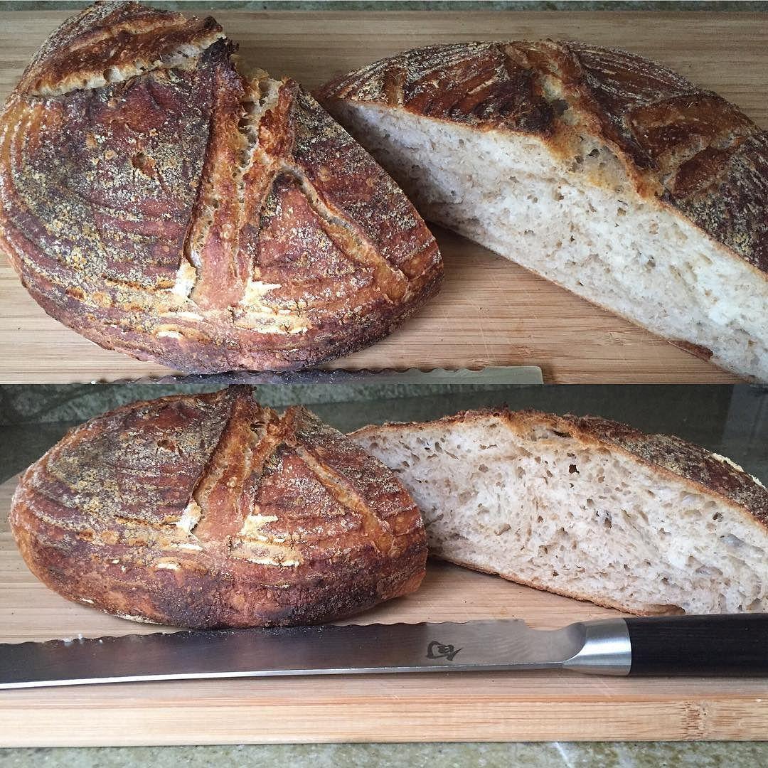 #sourdough #bread  #organic #sourdoughbread #dough #tartine #kaf #kingarthurflour #crust #crumb #yum #food #kershaw #shun #f52grams #buzzfeed #buzzfeast  #instabread by bensbites