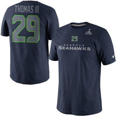 best service be7e9 4a081 Nike Earl Thomas III Seattle Seahawks Super Bowl XLVIII ...