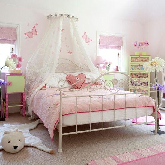 Ropa de cama para ni as decoraci n habitaciones for Habitaciones juveniles pinterest