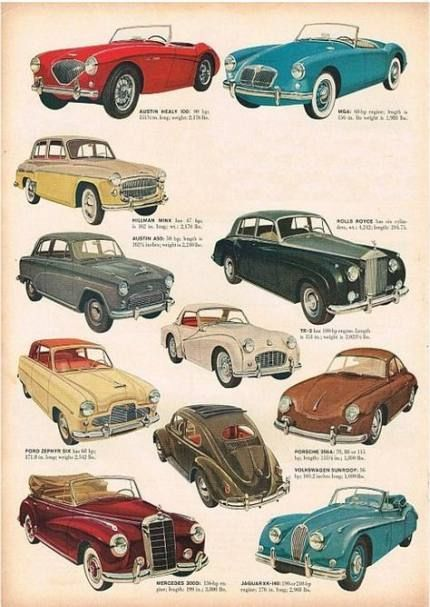 64 trendy ideas for classic cars illustration autos –