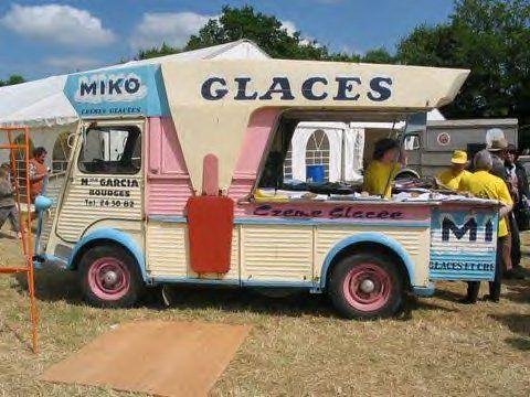 citro n hy glaces camion caravane des jeux pinterest glace marchand de glace et marchand. Black Bedroom Furniture Sets. Home Design Ideas