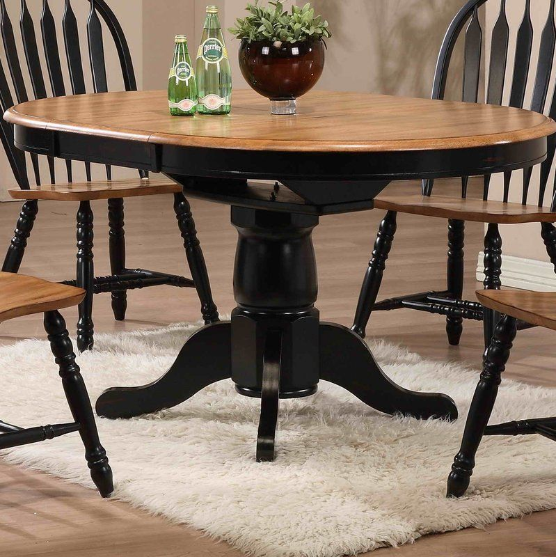 Florentia Extendable Solid Wood Dining Table With Images