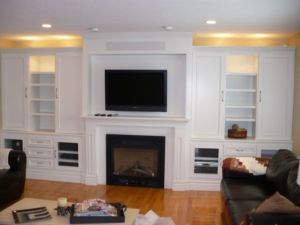 Custom Built Cabinets Wall Units