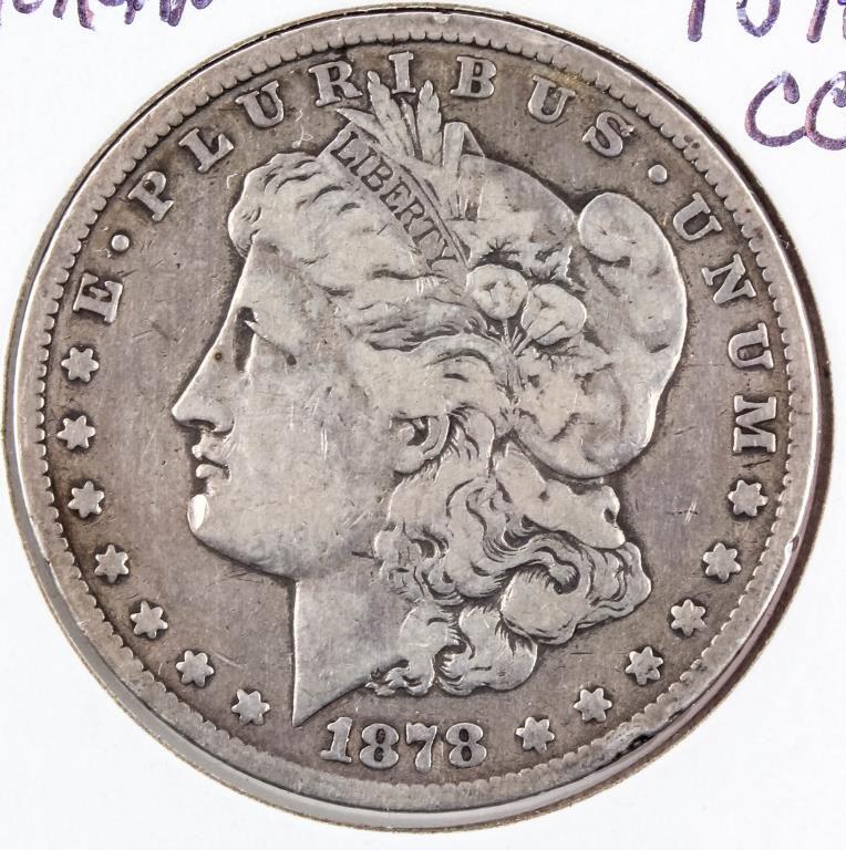 $2 1899 series George Washington 1 oz silver clad//.999 fine copper bullion bar