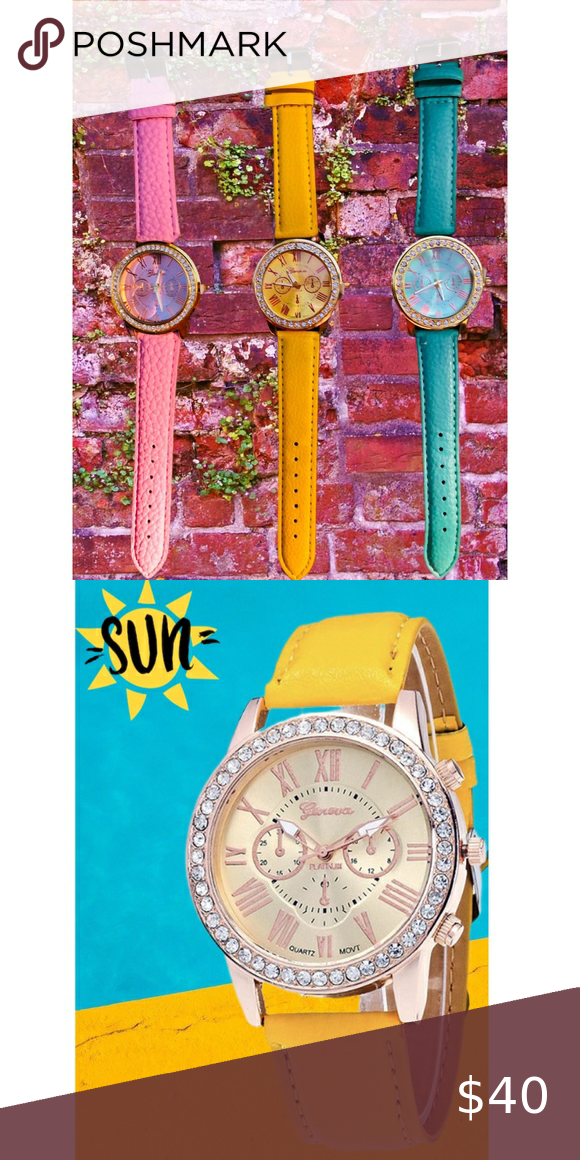 SALE! GORGEOUS NEW RHINESTONE WATCHES