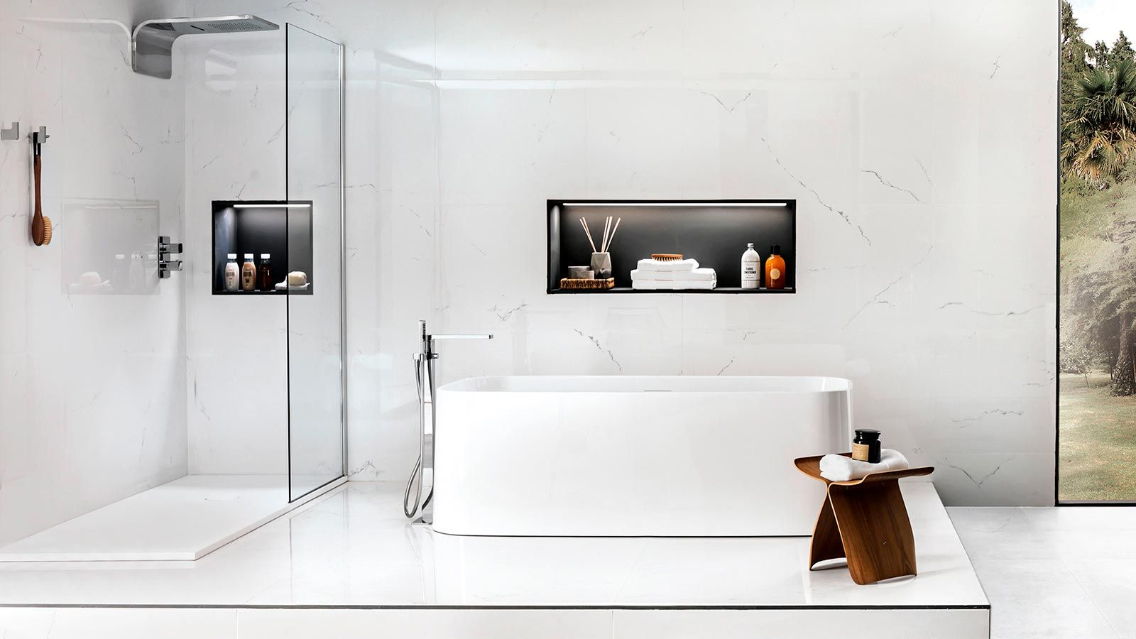 Salle De Bain Dax les 5 meilleures idées réelles des shower niche (niches