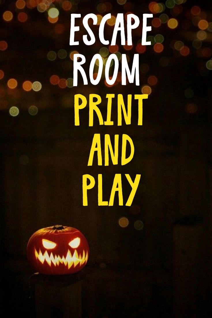 Escape game kit 1st house escape room children and adults