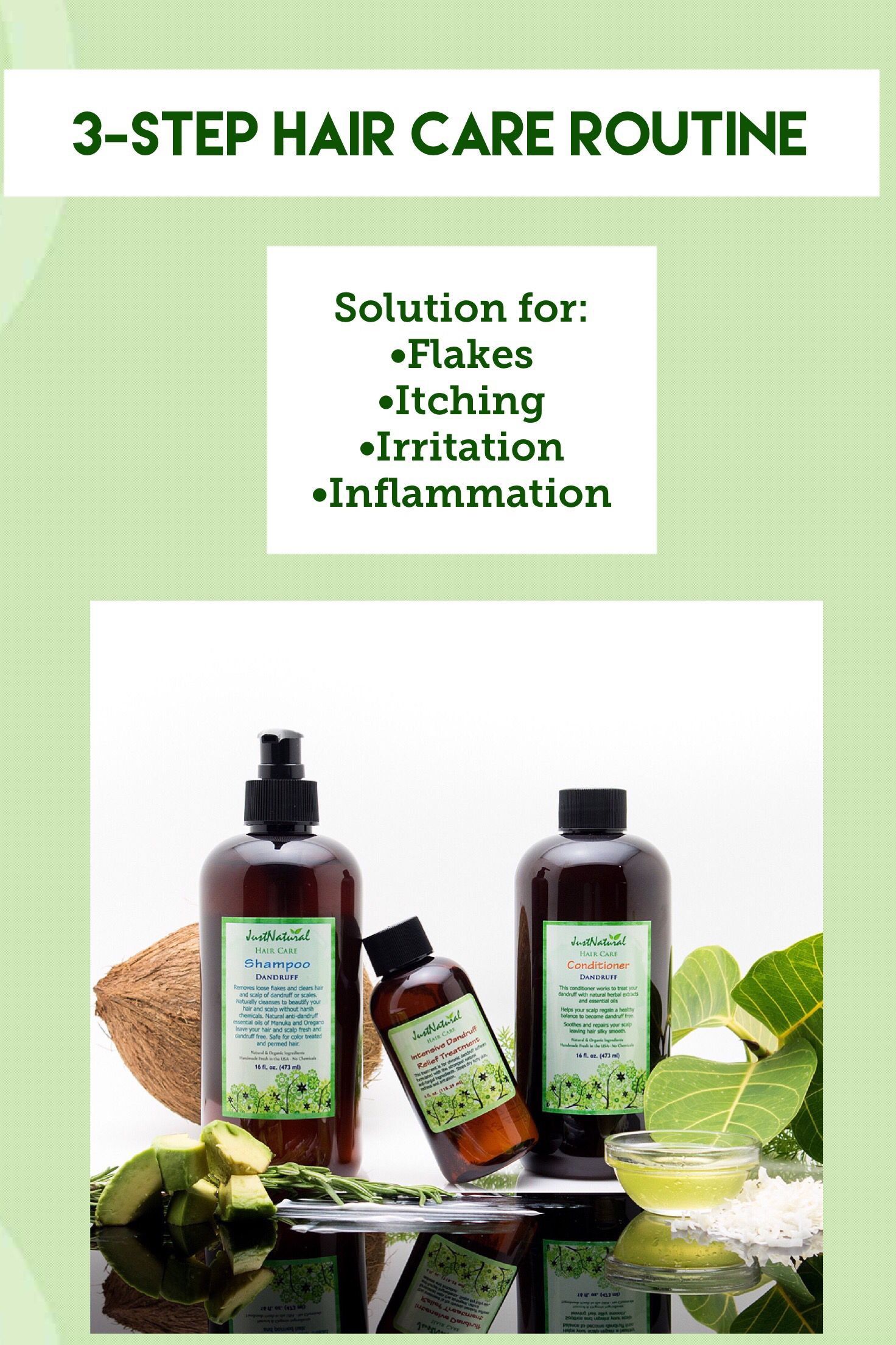 Let your scalp sigh in relief as our nutritive and vitamin