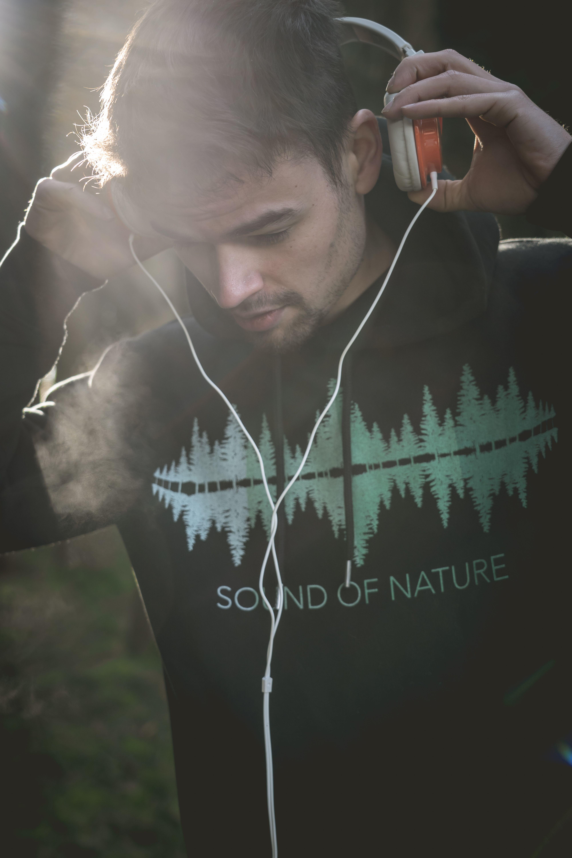 Sound of Nature Bio Hoody   Natur, Wald, Wunderschön