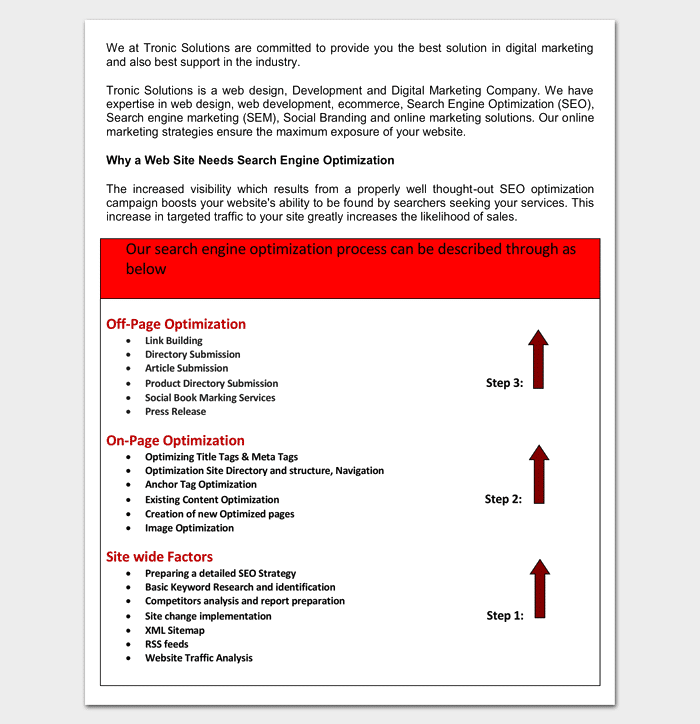 Marketing Proposal Template 6 For Word Pdf Proposal Templates
