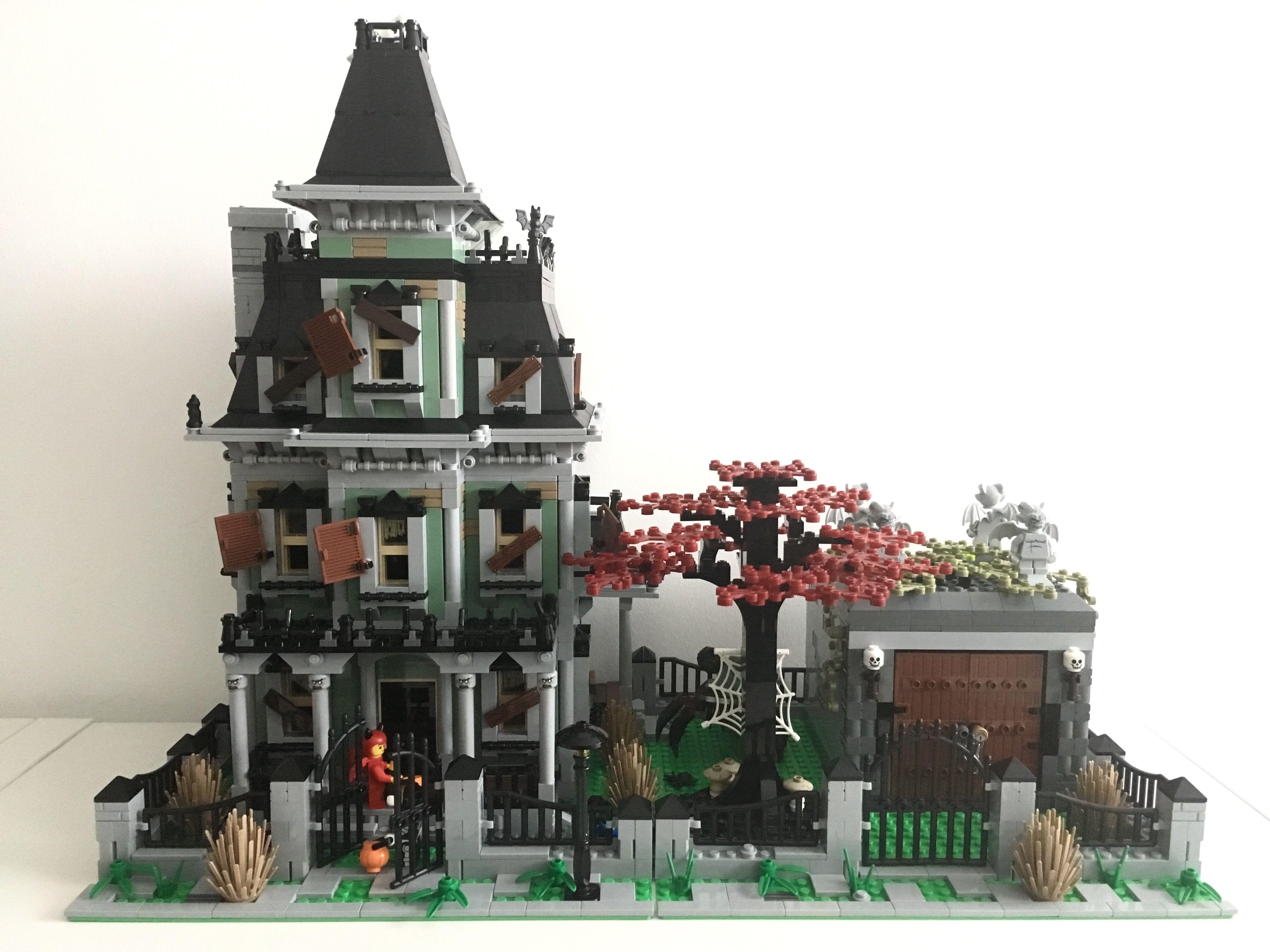 Haunted House Crypt Mod Imgur Lego Haunted House Lego House Big Lego