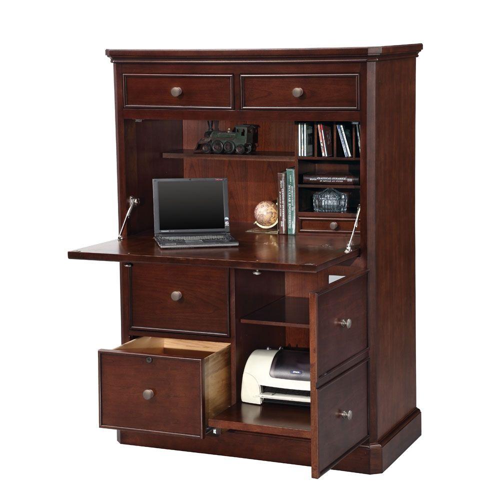 office desk armoire. Computer Armoire - 41\ Office Desk K