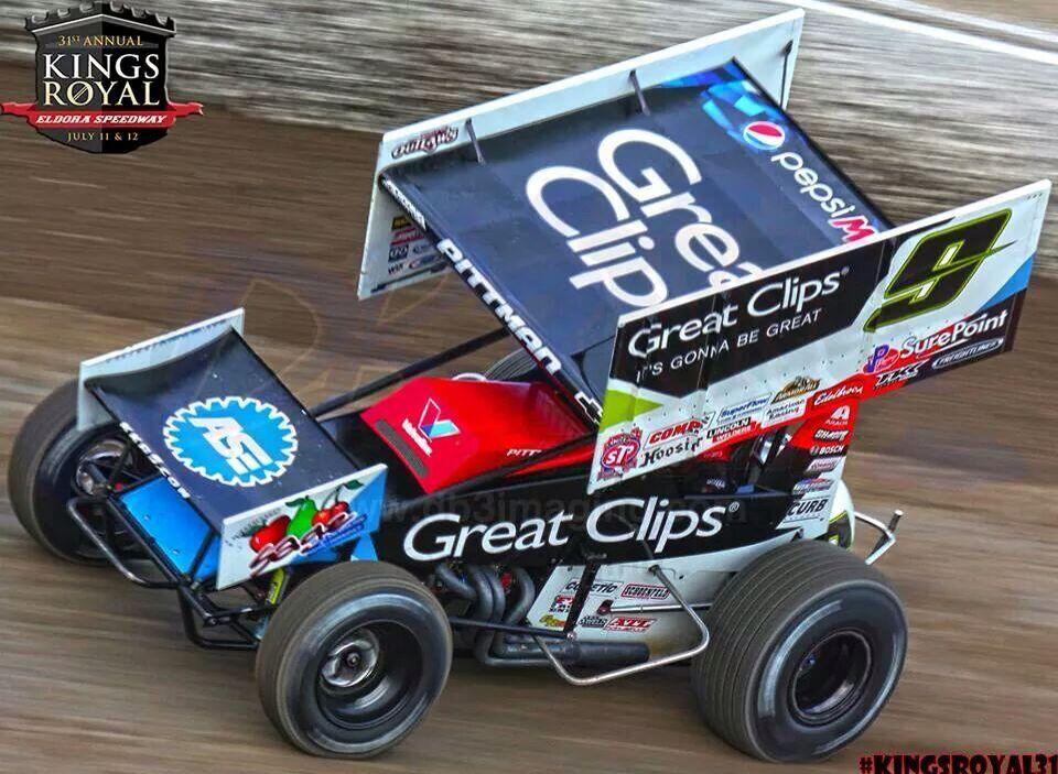 Great clips sprint car