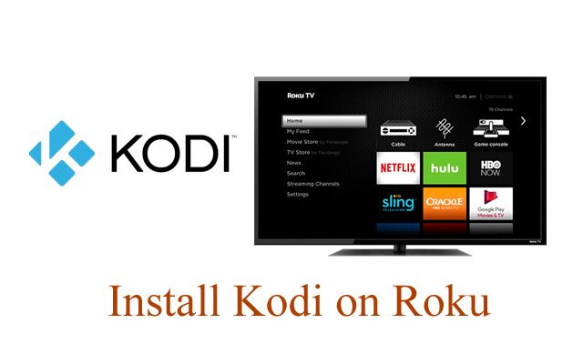 Add Kodi to Roku Kodi, Kodi live tv, Roku