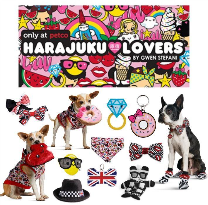 Gwen Stefani S Harajuku Lovers Collection At Petco Golden Woofs Harajuku Lovers Petco Harajuku