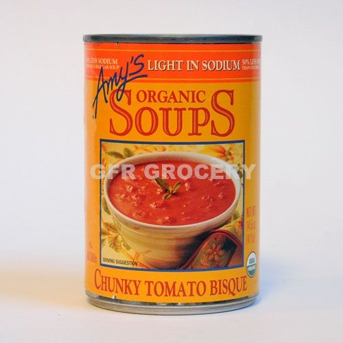 Amy S Kitchen Organic Soup Chunky Tomato Bisque Gfrgrocery Com Tomato Bisque Bisque Soup Tomato Bisque Soup
