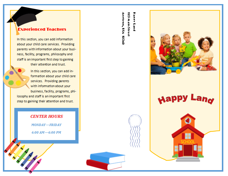 Image Result For Daycare Letterhead Child Care Services Childcare Home Daycare