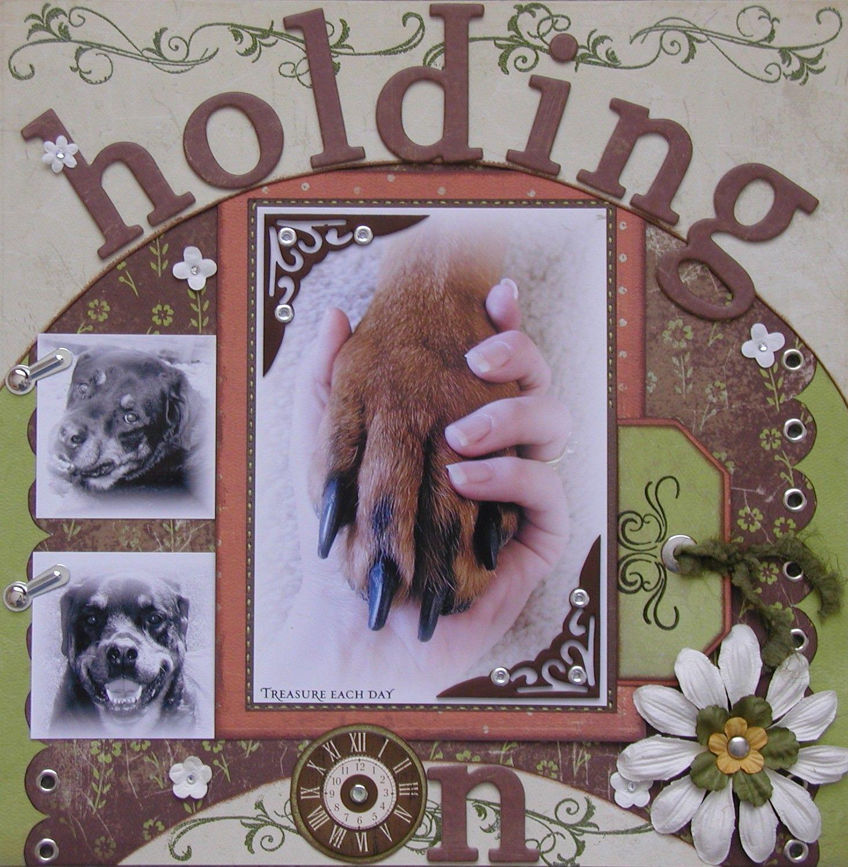 holding on - Sweet pet idea