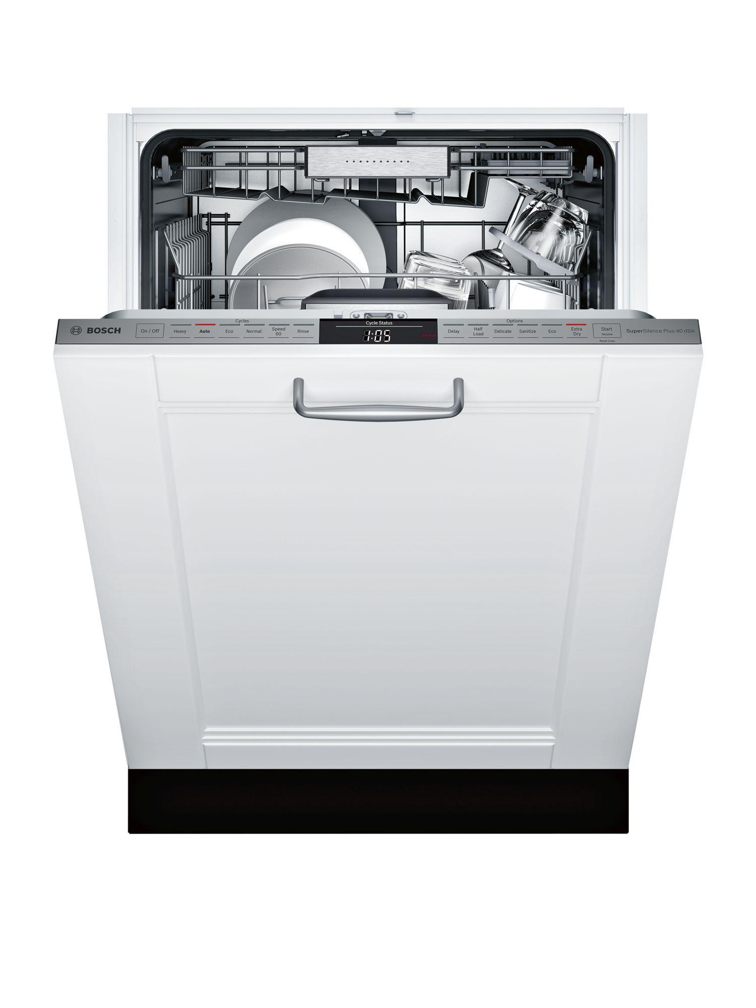 Bosch Shvm98w73n Dishwasher Large Utensils Dishwasher Black Dishwasher