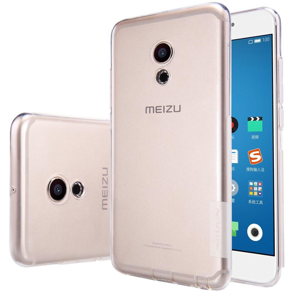 >> Click to Buy << Nillkin phone bag case for meizu pro 6 pro prime Silicone Cover For meizu pro 6 case Soft TPU Case Cover anti flip + dust plug #Affiliate