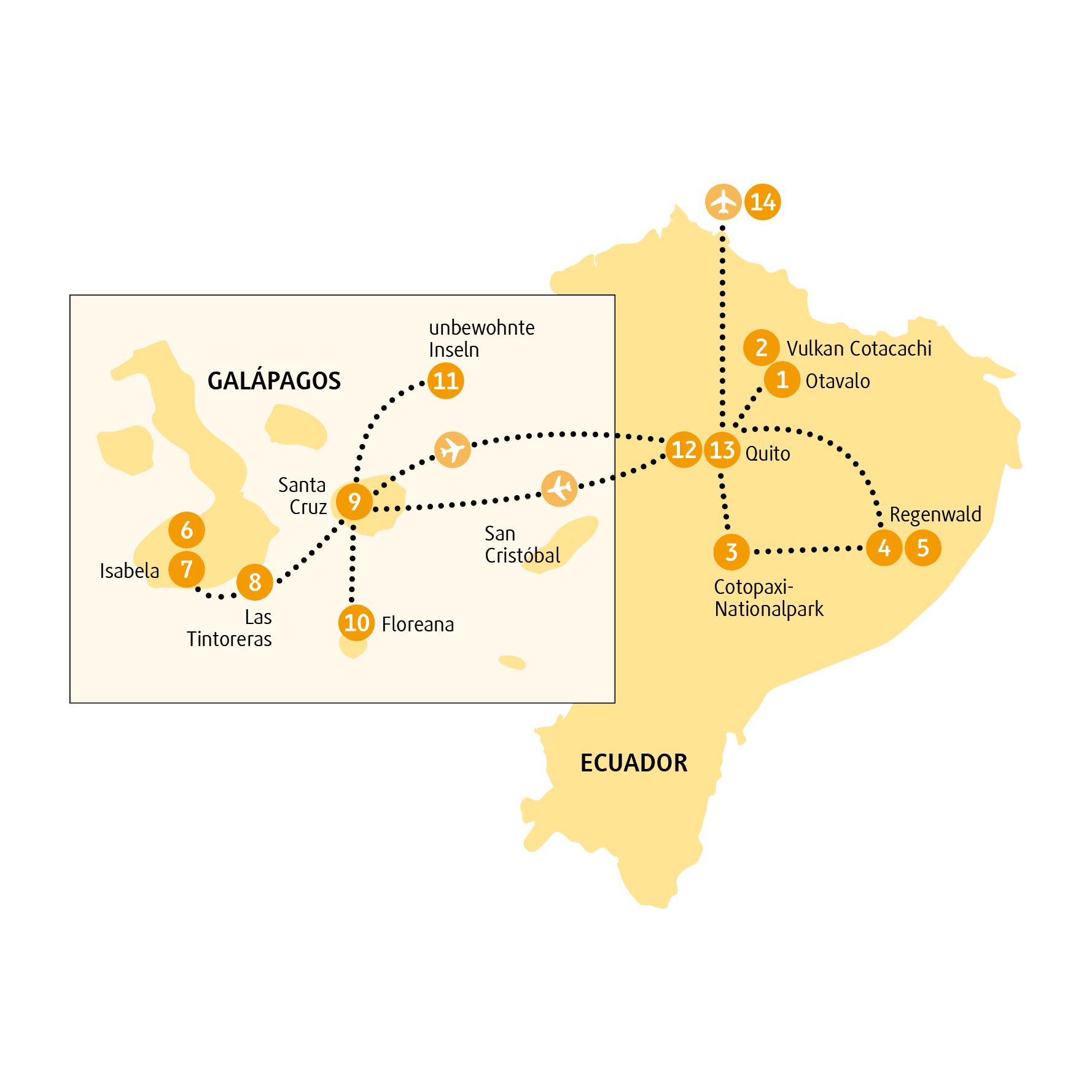 Wunderwelten Reise Ecuador Isabela Von Chamaleon 14 Tage Ecuador Reisen Regenwalder