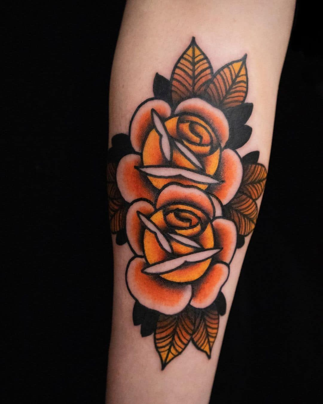63 Traditional Rose Tattoo Designs You Need To See! | Outsons | Men's Fashion Tips And Style Guide For 2020