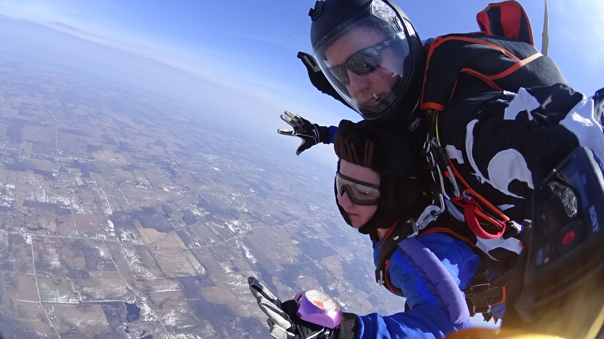 Your Second Tandem Skydive Is Called A Tandem Level 2 Or T2 On This Jump You Have The Opportunity To Wear An Altimeter Execute Skydiving Tandem Rochester Ny