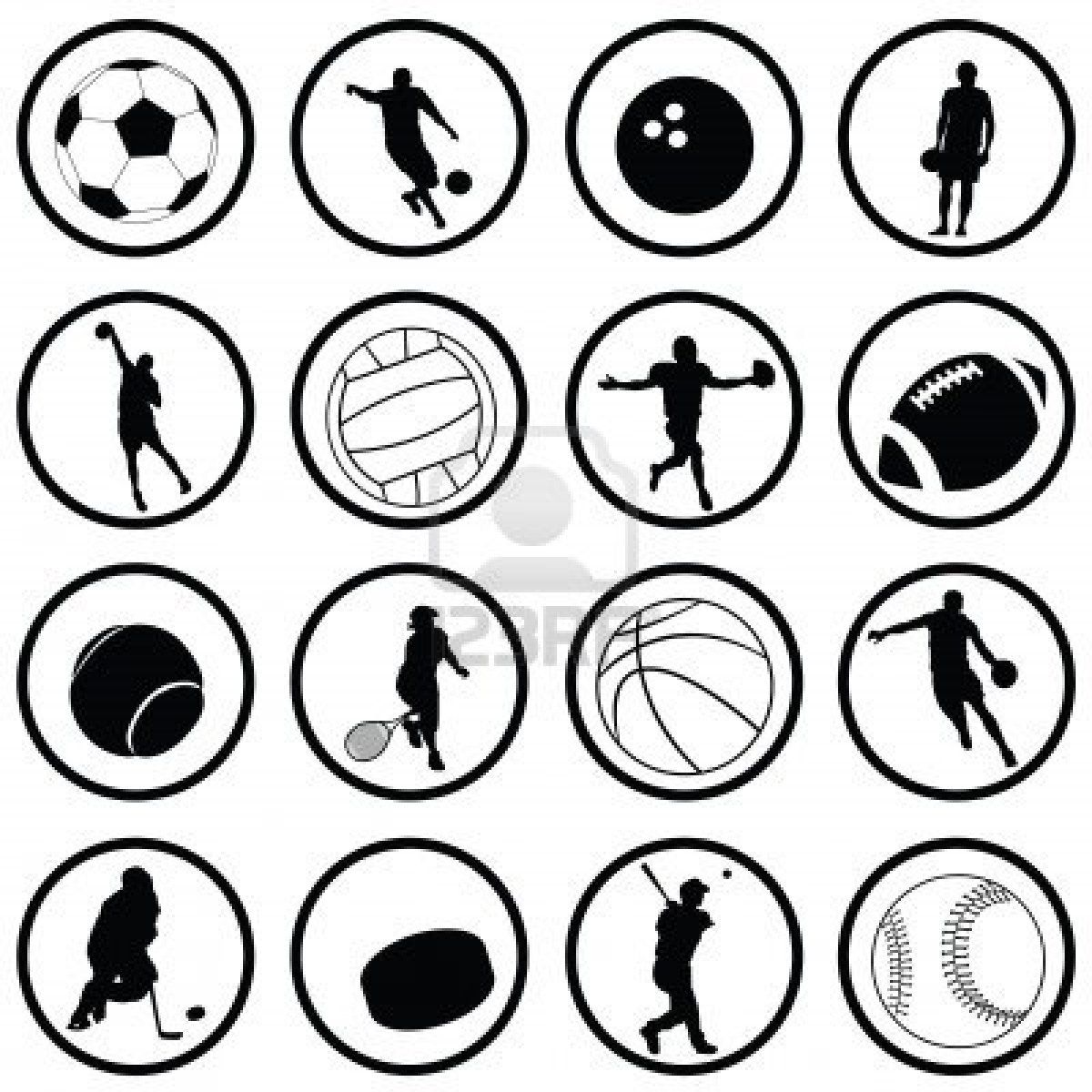 sport Google Search Silhouette vector, Image, Vector art