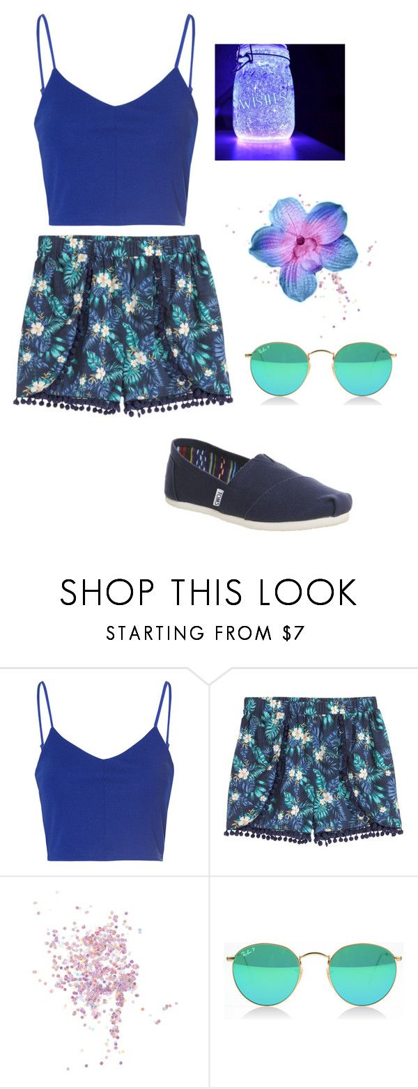 """""""Shine Bright Like A...."""" by taylormarykaeyelizabeth ❤ liked on Polyvore featuring Glamorous, H&M, Topshop and TOMS"""