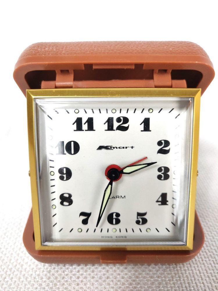 Kmart Wind Up Travel Alarm Clock Kmart Clocks Travel Alarm